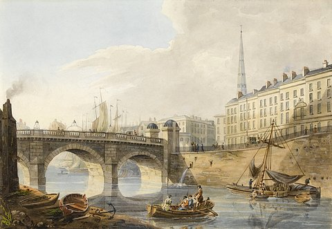 Bristol Bridge and St. Nicholas Church